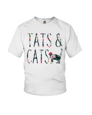 Tats and Cats Youth T-Shirt thumbnail