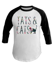 Tats and Cats Baseball Tee thumbnail