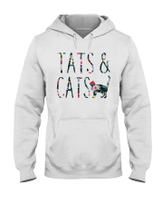 Tats and Cats Hooded Sweatshirt thumbnail