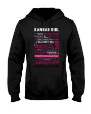 Kansas Girl Hooded Sweatshirt thumbnail