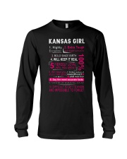 Kansas Girl Long Sleeve Tee thumbnail