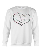 Horses and Cats Crewneck Sweatshirt thumbnail