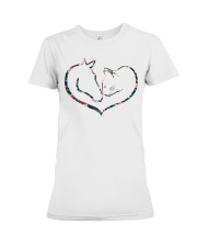 Horses and Cats Premium Fit Ladies Tee thumbnail