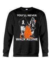 You'll Never Walk Alone Crewneck Sweatshirt thumbnail