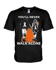You'll Never Walk Alone V-Neck T-Shirt thumbnail