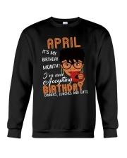 Happy Birthday Crewneck Sweatshirt thumbnail