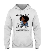 Michigan Girl Hooded Sweatshirt thumbnail