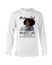 Michigan Girl Long Sleeve Tee thumbnail