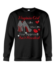 Virginia Girl Crewneck Sweatshirt tile