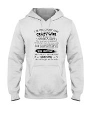 Crazy Wife Hooded Sweatshirt thumbnail