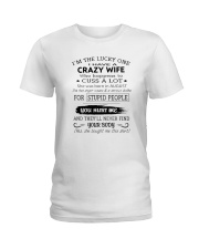 Crazy Wife Ladies T-Shirt thumbnail