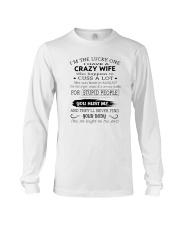 Crazy Wife Long Sleeve Tee thumbnail