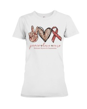 Peace Love Cure Premium Fit Ladies Tee thumbnail