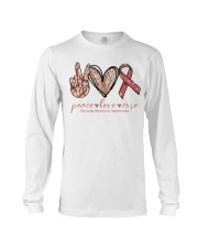 Peace Love Cure Long Sleeve Tee thumbnail