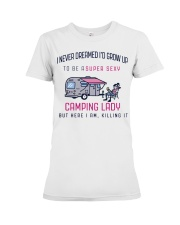 Camping Lady Premium Fit Ladies Tee thumbnail