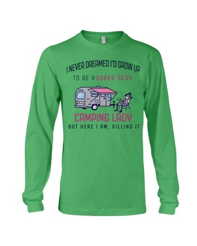 Camping Lady