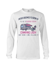 Camping Lady Long Sleeve Tee thumbnail