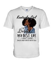 Kentucky Girl V-Neck T-Shirt thumbnail