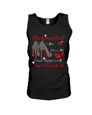 Maryland Girl Unisex Tank thumbnail