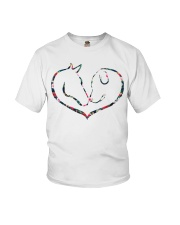 Horses and Dogs Youth T-Shirt thumbnail