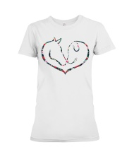 Horses and Dogs Premium Fit Ladies Tee thumbnail