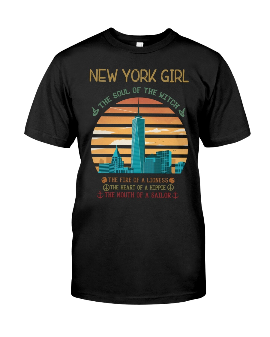 New York Girl Classic T-Shirt