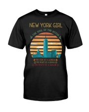 New York Girl Classic T-Shirt front