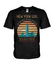 New York Girl V-Neck T-Shirt thumbnail