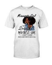 Minnesota Girl Classic T-Shirt front