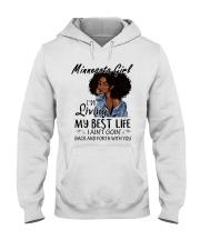 Minnesota Girl Hooded Sweatshirt thumbnail