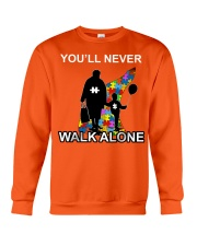 Never walk alone Crewneck Sweatshirt thumbnail