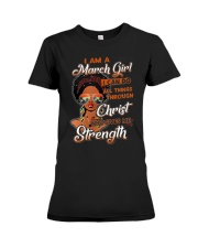Give me Strength Premium Fit Ladies Tee thumbnail