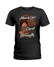 Give me Strength Ladies T-Shirt thumbnail