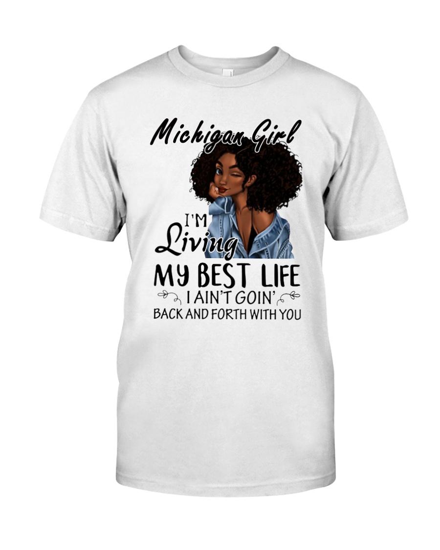 Michigan Girl Classic T-Shirt