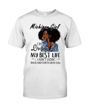 Michigan Girl Classic T-Shirt front