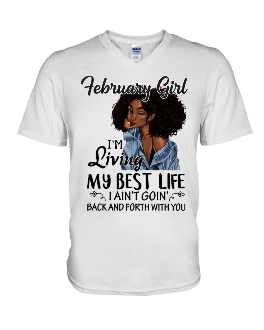 Best Life V-Neck T-Shirt