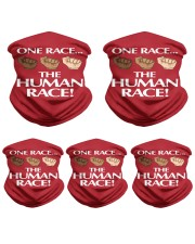 One Race the Human Race Neck Gaiter Neck Gaiter - 5 Pack front