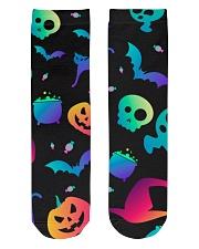 Halloween Comfortable Crew Socks 2019 Crew Length Socks front