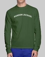 Random Jackass Long Sleeve Tee lifestyle-unisex-longsleeve-front-1