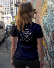 Not a Brilliant Woman Ladies T-Shirt lifestyle-women-crewneck-back-2