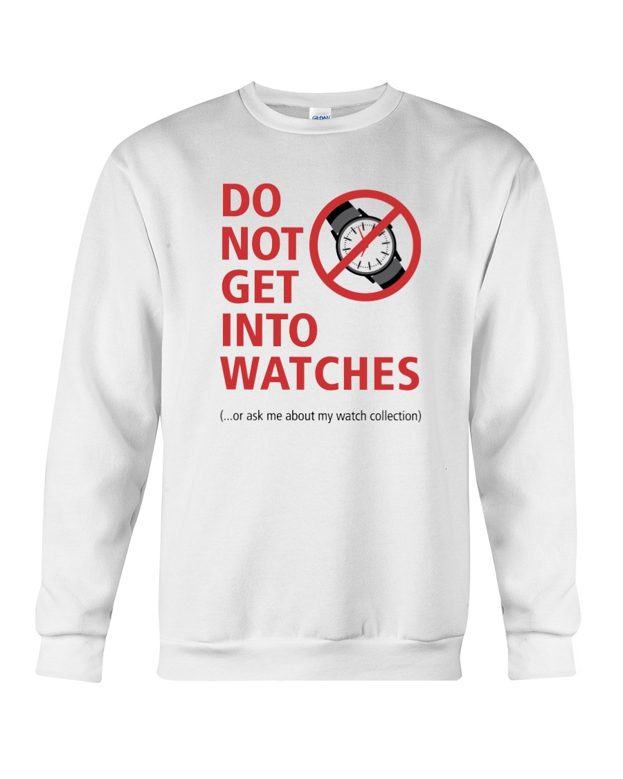 Nick Shabazz Says No to Watches Crewneck Sweatshirt