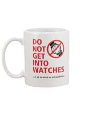 Nick Shabazz Says No to Watches Mug back