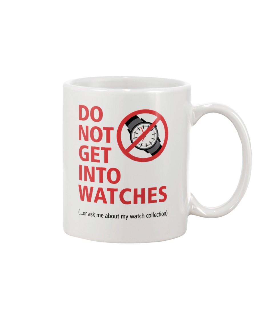 Nick Shabazz Says No to Watches Mug