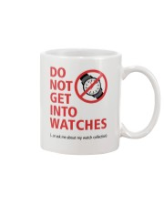 Nick Shabazz Says No to Watches Mug thumbnail