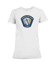 Join the Pocket Pecker Flock Premium Fit Ladies Tee thumbnail