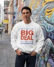 Big Deal Crewneck Sweatshirt lifestyle-unisex-sweatshirt-front-2