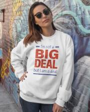 Big Deal Crewneck Sweatshirt lifestyle-unisex-sweatshirt-front-3