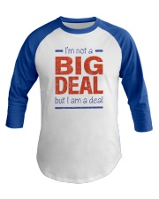 Big Deal Baseball Tee front
