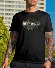High Quality Jackass Premium Fit Mens Tee lifestyle-mens-crewneck-front-8