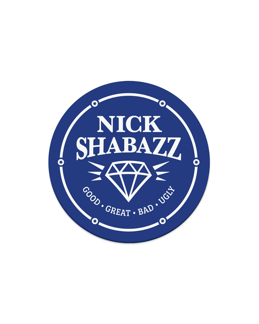 The Nick Logo Circle Magnet